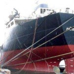Photo of Stern of Dean's Ship