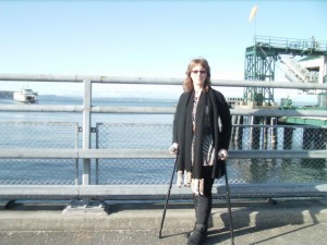 Seattle-Bremerton Ferry-5 days post op HyProCure Surgery