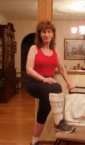 4-week Post Op HyProCure w/Aircast Leg Brace