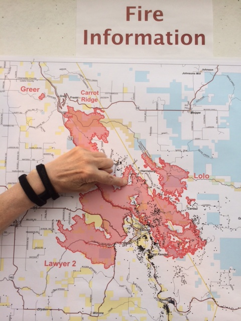 Kamiah Fire Map.Fire Map Around Kamiah