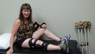 Rt Knee ACL and MCL Sprains with Bone Bruising – My Journey To Find Hope and Healing